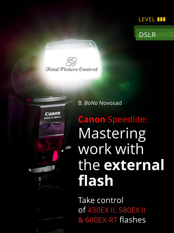 Canon Speedlite: Mastering work with the external flash Take control of 430EX II, 580EX II & 600EX-RT flashes